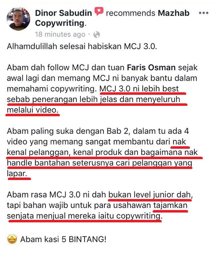 cara tulis copywriting berkesan ilmu penulisan iklan daripada Mazhab Copywriting Junior Berkesan Cara Tulis Copywriting Lengkap Teknik Berkesan